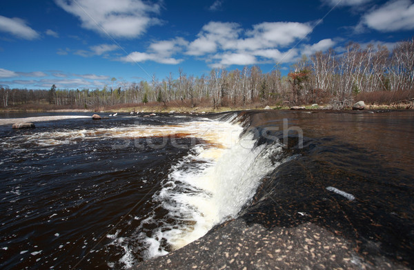 Rainbow Falls in Whiteshell Manitoba Stock photo © pictureguy