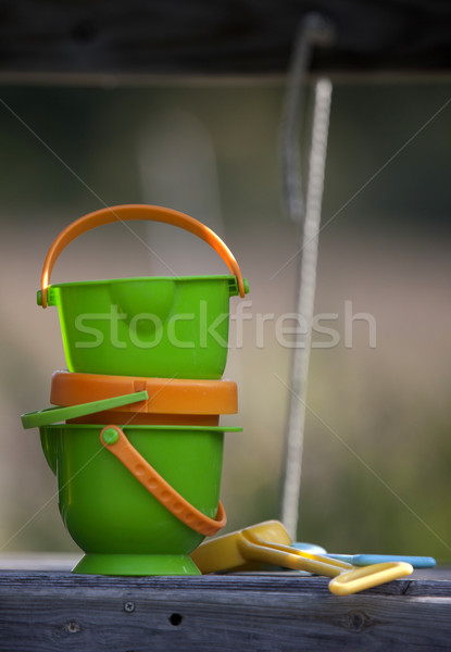 Childrens sandbox pails Stock photo © pictureguy