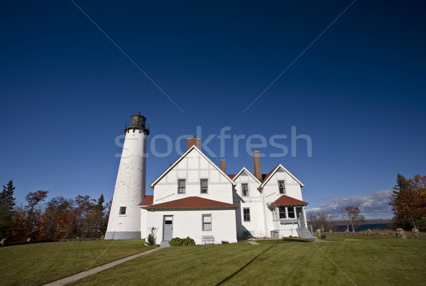 Lighthouse Northern Michigan Stock photo © pictureguy