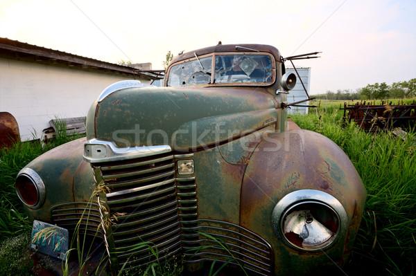 Abandoned vintage car Stock photo © pictureguy