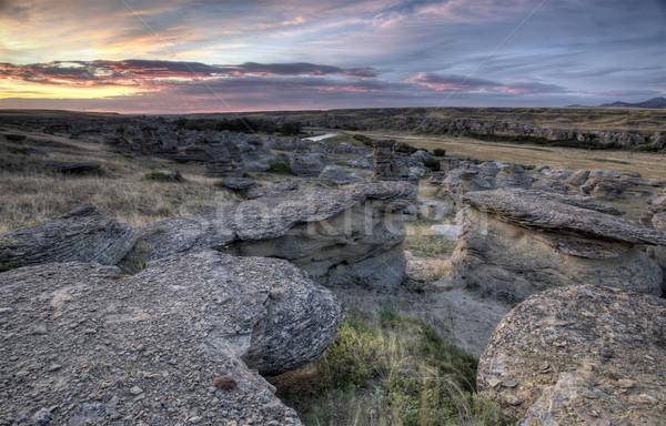 Canada schrijven steen park natuur rock Stockfoto © pictureguy