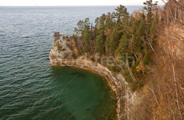 Lago settentrionale Michigan caduta autunno bella Foto d'archivio © pictureguy