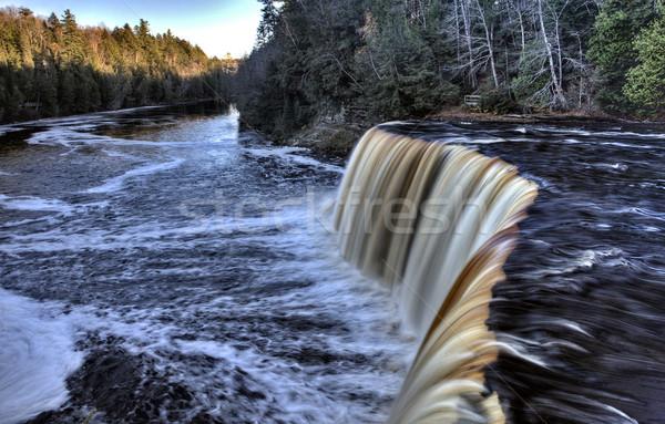 Settentrionale Michigan up cascate penisola autunno Foto d'archivio © pictureguy