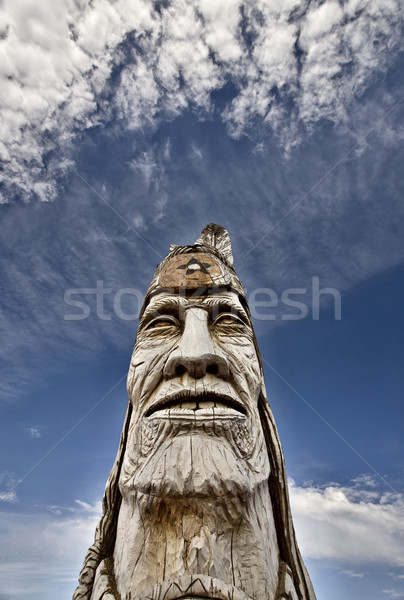 Totem Pole Stock photo © pictureguy