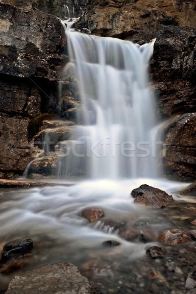 Stock photo: Tangle Waterfall Alberta Canada