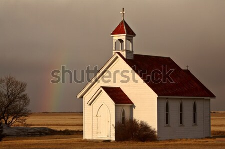 Old Prairie Church Stock photo © pictureguy