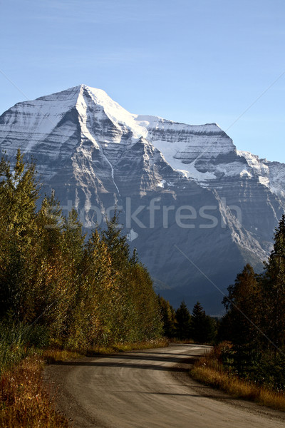 Mount Robson in beautiful British Columbia Stock photo © pictureguy