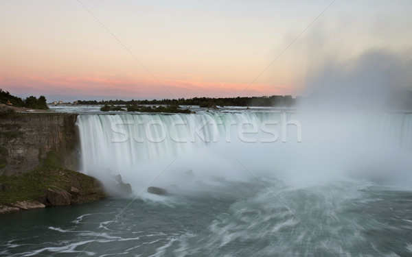 Niagara Falls ontario Canada hemel water natuur Stockfoto © pictureguy