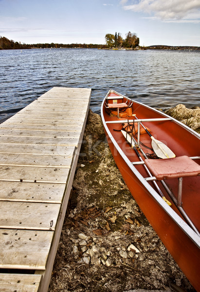 Potawatomi State Park Boat rental Stock photo © pictureguy