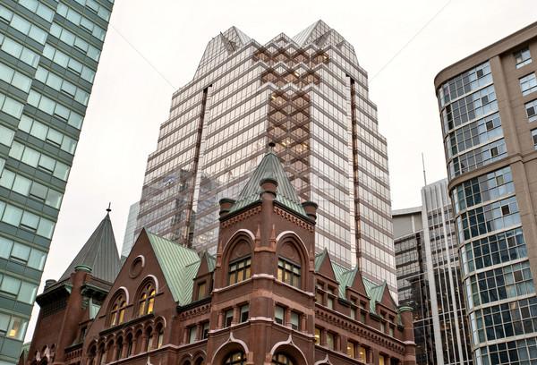 Edificios edad nuevos Toronto ciudad Foto stock © pictureguy