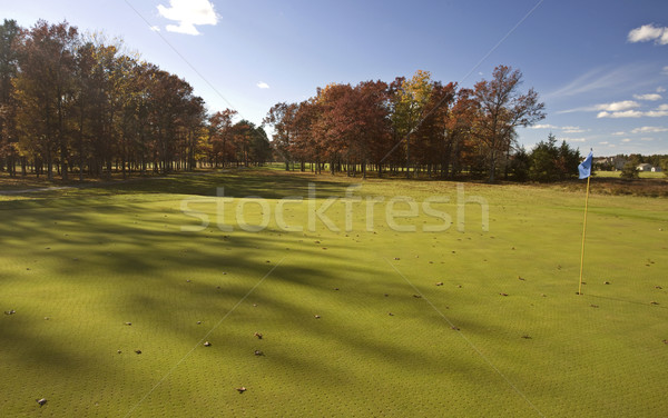 Michigan campo de golf tarde tarde verde Foto stock © pictureguy