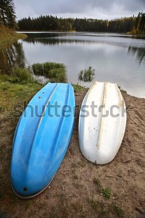 Due lago settentrionale saskatchewan Foto d'archivio © pictureguy