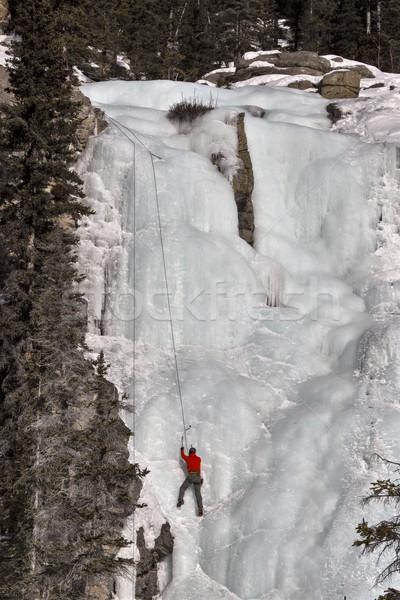 Ice Climbing Stock photo © pictureguy