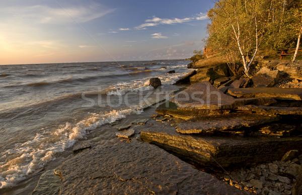 Quarry at Hecala Island Manitoba Stock photo © pictureguy