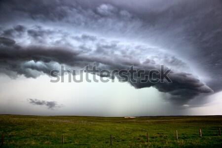Storm Clouds Saskatchewan Stock photo © pictureguy