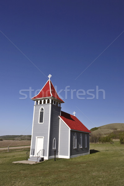 Saint Nicholas Luthern Church in summer Stock photo © pictureguy
