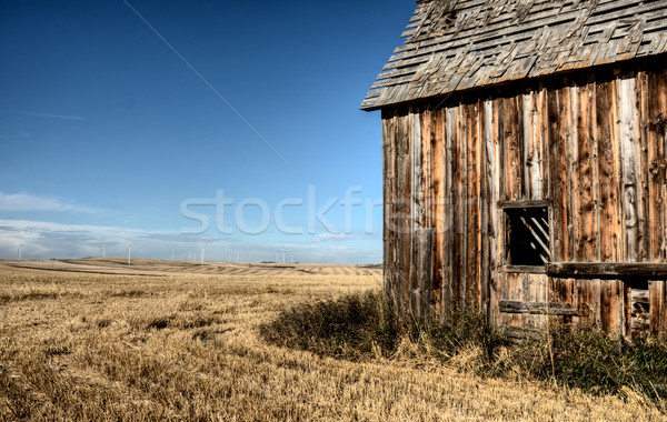 Alberta Prairie Building Stock photo © pictureguy