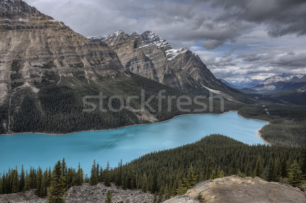 Peyto Lake Alberta Canada Stock photo © pictureguy