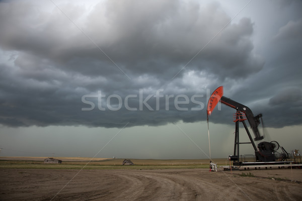 Prairie Storm Clouds Stock photo © pictureguy