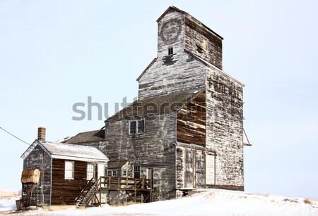 Old Vintage Grain Elevator Stock photo © pictureguy