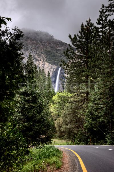 Zdjęcia stock: Wodospad · scena · górskich · parku