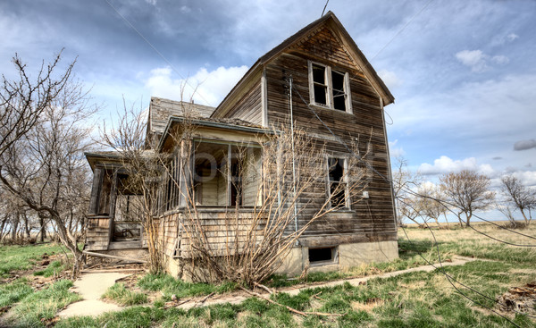 Stock photo: Exterior Abandoned House