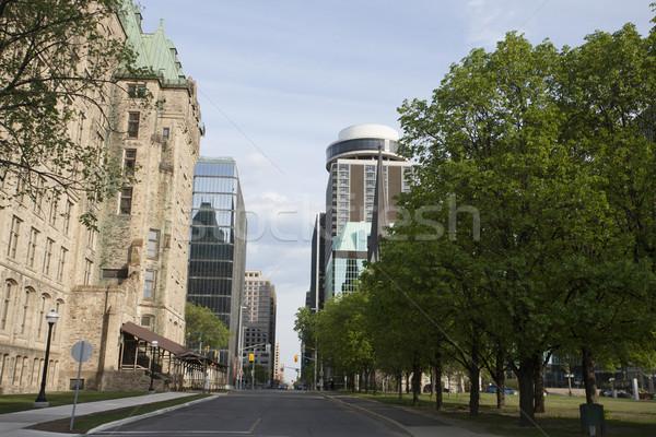 отель Оттава Онтарио Канада старые здании Сток-фото © pictureguy