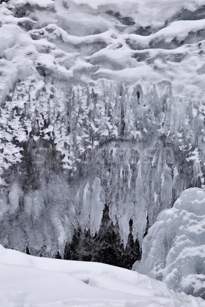 льда воды гор природы пейзаж снега Сток-фото © pictureguy
