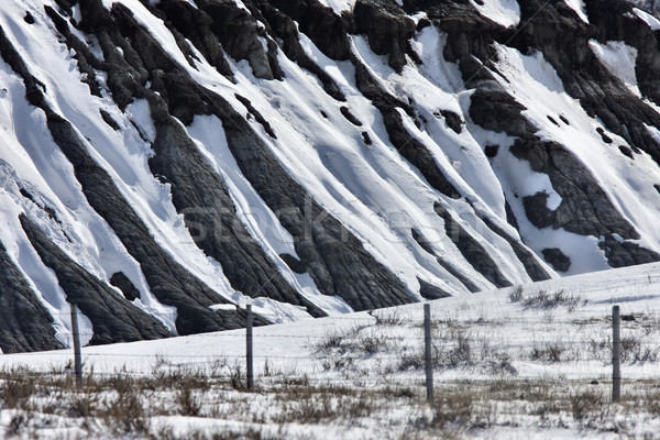 Saskatchewan Badlands Stock photo © pictureguy