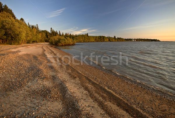 Sunrise on Lake Winnipeg Manitoba Canada Stock photo © pictureguy