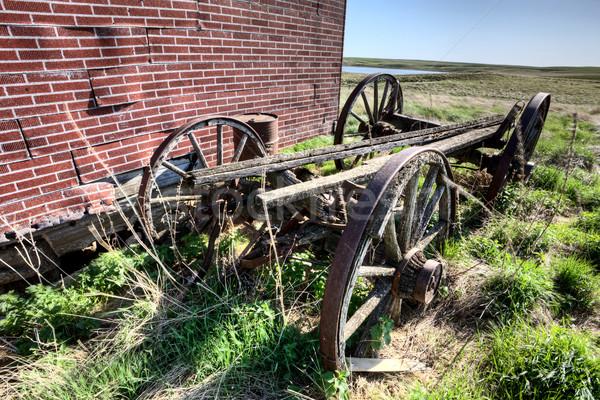 Old Wagon Wheel Stock photo © pictureguy