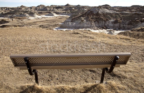 Badlands Alberta Bench View Stock photo © pictureguy