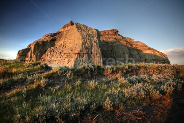 Kastély nagy sáros völgy déli Saskatchewan Stock fotó © pictureguy