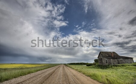 Abandoned Farm Buildings Saskatchewan Stock photo © pictureguy