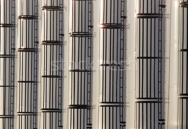 現代 はしご パターン 農業 サスカチュワン州 カナダ ストックフォト © pictureguy