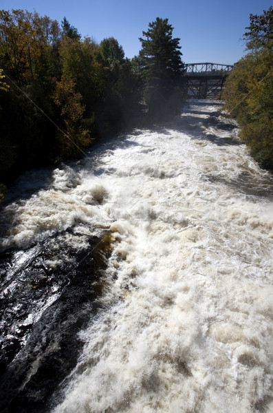 Stock photo: River Waterfall Bracebridge Ontario