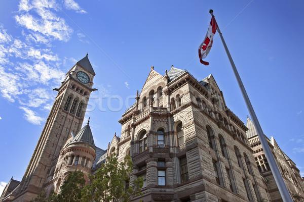 Toronto centro de la ciudad edad ciudad sala urbanas Foto stock © pictureguy