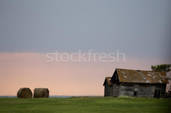 прерия небе Канада зловещий опасность Сток-фото © pictureguy