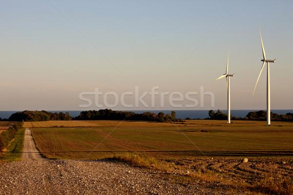 Rural país escena lago ontario Canadá Foto stock © pictureguy