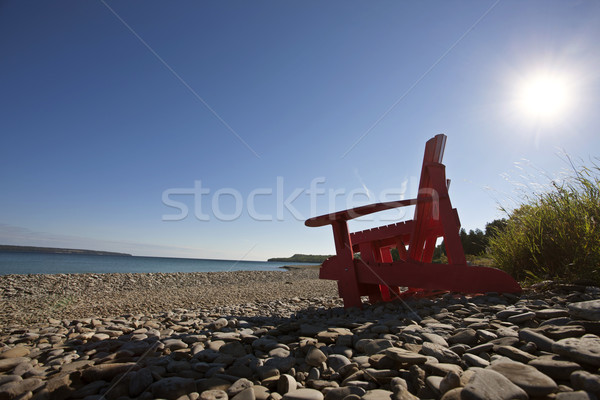 Sonores ontario chaises Canada eau nature Photo stock © pictureguy