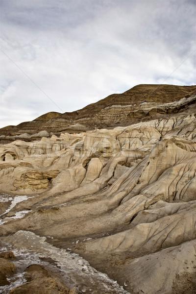 Stock photo: Badlands Alberta