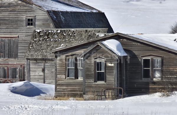 Stock photo: Old Granary