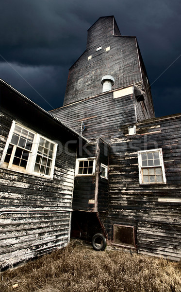 Saskatchewan Grain Elevator Stock photo © pictureguy