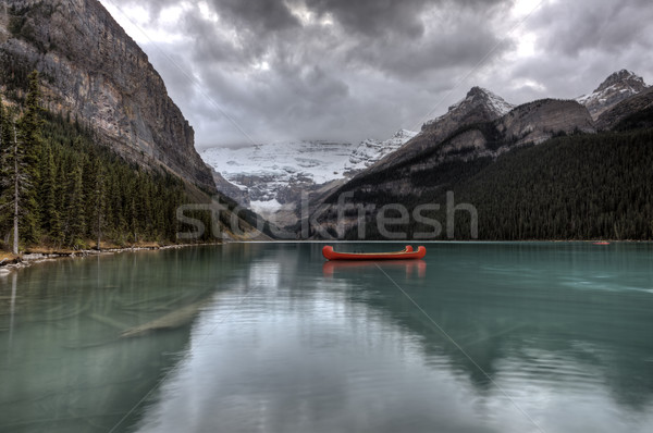Lake Louise Glacier  Stock photo © pictureguy