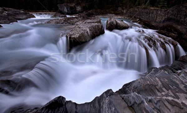 Nattural Bridge Yoho National Park Stock photo © pictureguy