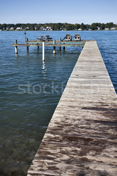 Docks on River Stock photo © pictureguy