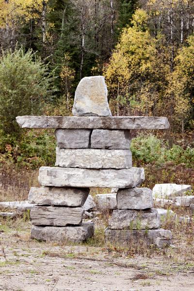 オンタリオ カナダ 岩 構造 旅行 デジタル ストックフォト © pictureguy