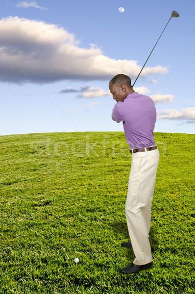 男 ゴルファー ハンサムな男 演奏 スポーツ ゴルフ ストックフォト © piedmontphoto