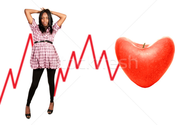 Healthy African American Woman  Stock photo © piedmontphoto
