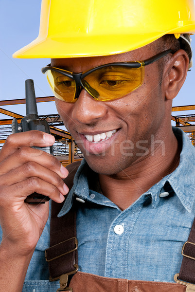 Construction Worker Stock photo © piedmontphoto